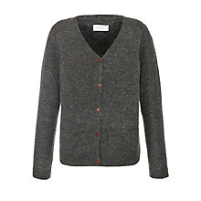 Buy Toast Marcie Cardigan, Grey/Navy Online at johnlewis.com