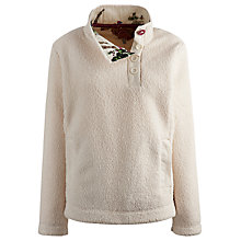 Buy Joules Bonita Fleece, Cream Online at johnlewis.com