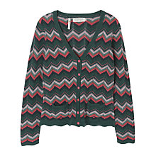 Buy Seasalt Orchard Cardigan, Chevron Online at johnlewis.com