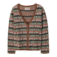 Buy Seasalt Matilda Cardigan, Tobacco Online at johnlewis.com