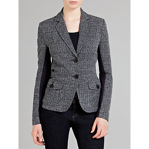 Buy Sandwich Tweed Blazer, Dark Blue Online at johnlewis.com