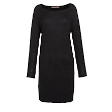 Buy Sandwich Knit Dress, Black Online at johnlewis.com