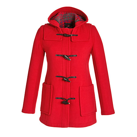 Buy Gloverall Short Slim Duffle Coat Online at johnlewis.com