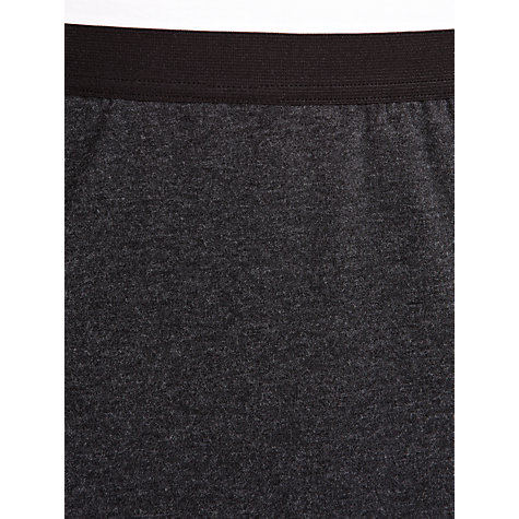 Buy Sandwich Tube Jersey Skirt, Black Heather Online at johnlewis.com