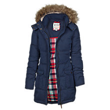 Buy Fat Face Florry Long Puffer Jacket Online at johnlewis.com