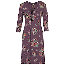 Buy Fat Face Ingrid Harvest Floral Dress, Sweet Grape Online at johnlewis.com