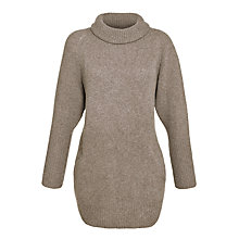 Buy Toast Josie Slouchy Jumper, Grey Online at johnlewis.com