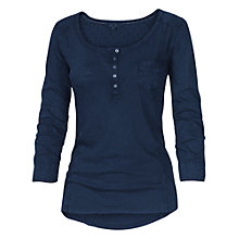Buy Fat Face Esther Top, Navy Online at johnlewis.com
