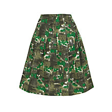 Buy Toast Papineau Print Skirt, Emerald Print Online at johnlewis.com