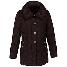 Buy Gerry Weber Down Filled Jacket, Black Online at johnlewis.com