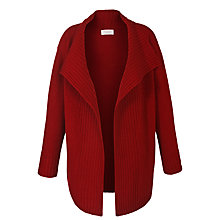 Buy Toast Maxi Wrap Cardigan, Claret Online at johnlewis.com