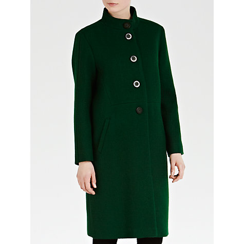Buy Toast Rimouski Coat, Emerald Online at johnlewis.com