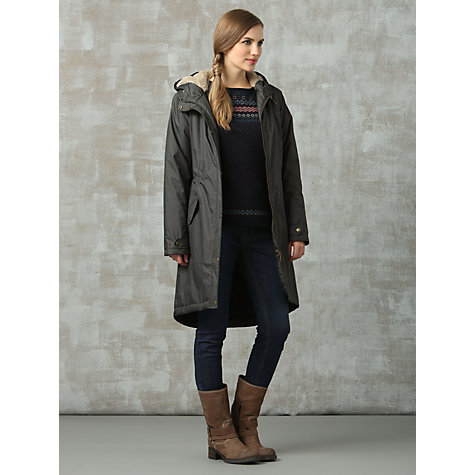 Buy Seasalt Plant Hunter Coat, Cormorant Online at johnlewis.com
