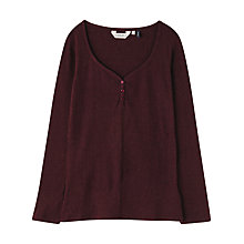 Buy Seasalt Talluah Top, Merlot Online at johnlewis.com