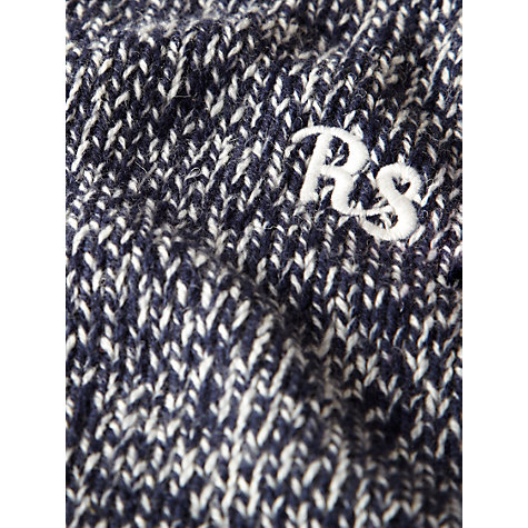 Buy Rampant Sporting Chunky Knit Jumper, Peacoat Online at johnlewis.com