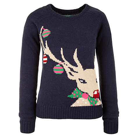 Buy Rampant Sporting Reindeer Jumper, Reindeer Fairisle Online at johnlewis.com