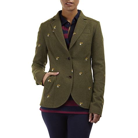 Buy Rampant Sporting Stag Tweed Blazer, Stag Tweed Online at johnlewis.com
