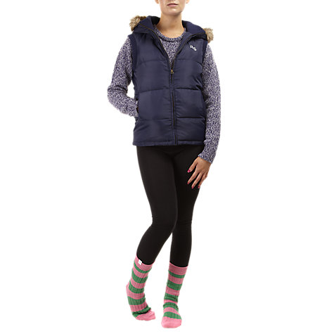 Buy Rampant Sporting Faux Fur Hood Gilet Online at johnlewis.com