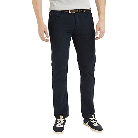Buy Henri Lloyd Regular Fit Corduroy Trousers Online at johnlewis.com
