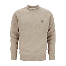 Buy Henri Lloyd Crew Neck Wool Jumper, Sandstone Online at johnlewis.com