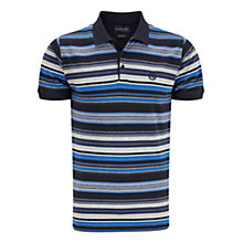 Buy Henri Lloyd Stripe Short Sleeve Polo Shirt Online at johnlewis.com