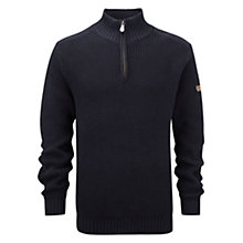 Buy Henri Lloyd Butterton Half Zip Jumper, Navy Online at johnlewis.com