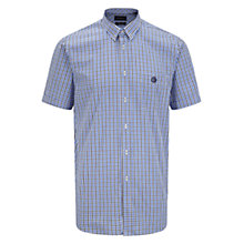 Buy Henri Lloyd Nimbus Short Sleeve Check Shirt Online at johnlewis.com