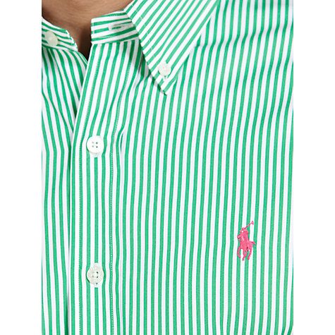 Buy Polo Golf by Ralph Lauren Striped Oxford Shirt Online at johnlewis.com