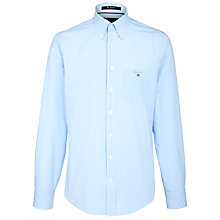 Buy Gant Micro Gingham Poplin Shirt Online at johnlewis.com