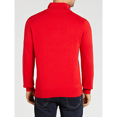 Buy Gant Classic Mock Neck Jumper Online at johnlewis.com