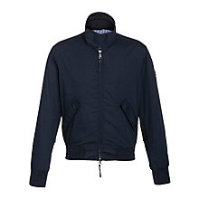 Buy Gant Flyer Blouson Jacket, Blue Iris Online at johnlewis.com