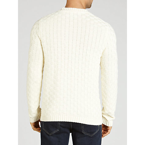 Buy Gant Basket Weave Crew Neck Jumper Online at johnlewis.com