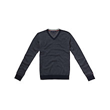 Buy Tommy Hilfiger Sid V-Neck Cotton Cashmere Jumper Online at johnlewis.com