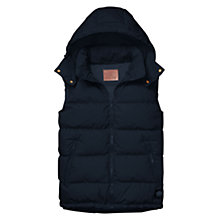 Buy Scotch & Soda Bulky Gilet, Night Online at johnlewis.com