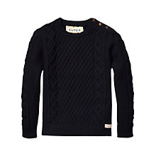 Buy Scotch & Soda Monsanto Pullover, Navy Online at johnlewis.com