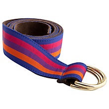 Buy Thomas Pink Dorchester Ribbon Belt Online at johnlewis.com