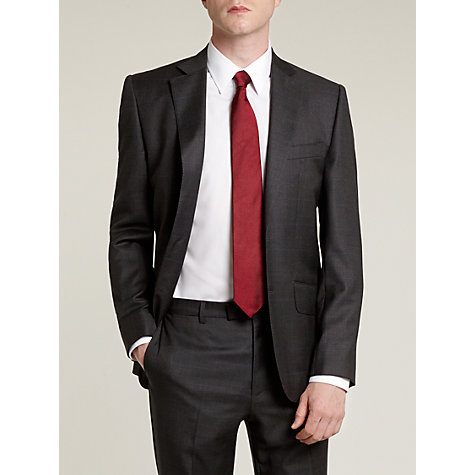 Buy Hardy Amies Prince of Wales Check Suit Jacket, Grey Online at johnlewis.com