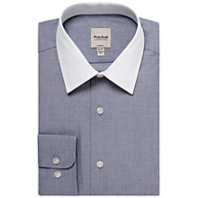 Buy Hardy Amies Semi-Cutaway Contrast Collar Long Sleeve Shirt Online at johnlewis.com
