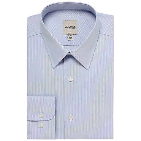 Buy Hardy Amies Fine Stripe Long Sleeve Shirt Online at johnlewis.com