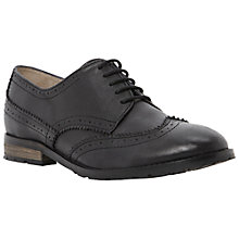 Buy Bertie Lula Leather Lace Up Brogues, Black Online at johnlewis.com
