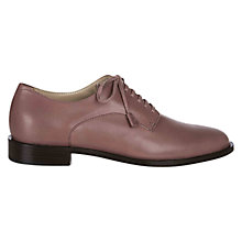 Buy Hobbs London Clement Derby Brogues, Mauve Pink Online at johnlewis.com