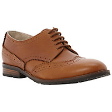 Buy Bertie Lula Leather Lace Up Brogues, Brown Online at johnlewis.com