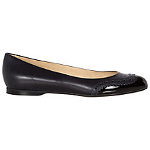 Buy Hobbs Millie Pump Shoes, Black Online at johnlewis.com