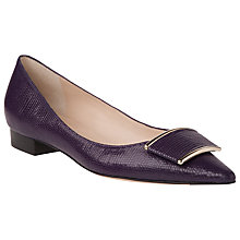 Buy L.K. Bennett Amelia Printed Flat Court Shoes Online at johnlewis.com