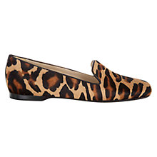 Buy Hobbs London Audrey Slipper Shoes, Leopard Online at johnlewis.com