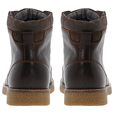 Buy Bertie College Leather Lace Up Boots Online at johnlewis.com