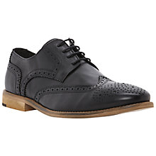Buy Bertie Aston Leather Brogue Derby Shoes Online at johnlewis.com