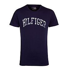 Buy Tommy Hilfiger Glasgow T-Shirt, Navy Online at johnlewis.com