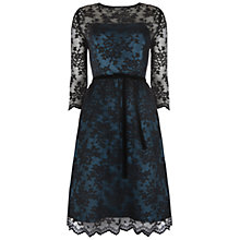 Buy Ariella Millie Dress, Black/Teal Online at johnlewis.com