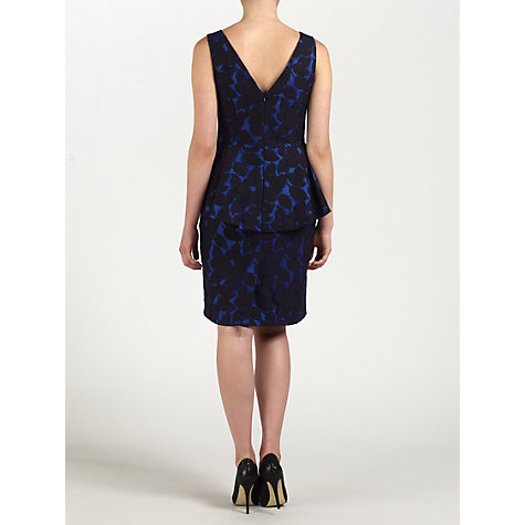 Buy Ariella Violet Lace Dress, Black/Blue Online at johnlewis.com